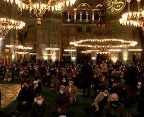 Ayasofya Camii'nde muhteşem gece