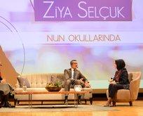 Milli Eğitim Bakanı Pof. Dr. Ziya Selçuk Nun Okullarındaydı