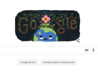 Google'ın Doodle'ı İlkbahar Gündönümü ne demek?