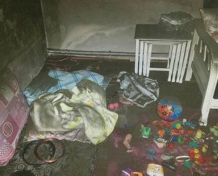 Kayseri'de acı olay! İki kardeş yangında can verdi