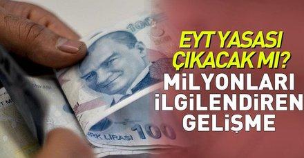 Emeklilikte yaşa takılanlar(EYT) yasası çıkacak mı? Başkan Erdoğandan emeklilikte yaşa takılanlar açıklaması
