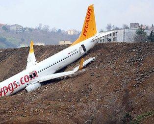 Pegasus uçağında neler oldu?