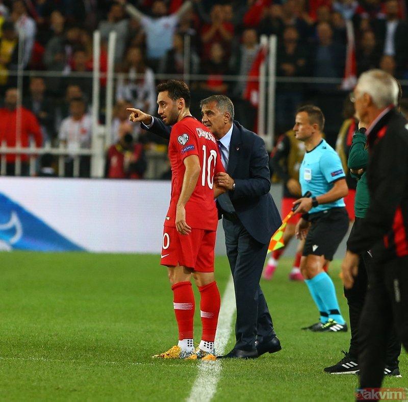 Zorlu maçta son dakika değişikliği! İşte Fransa-Türkiye maçının 11'leri