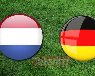 Hollanda Almanya maçı ne zaman, saat kaçta? Hollanda Almanya maçı hangi kanalda?