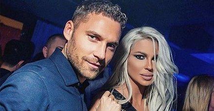 Jelena ofsayta düştü! Dusko Tosic'in eşi Jelena Karleusa'nın, Boşnak futbolcu Ognjen Vranjes ile samimi görüntüleri ortaya çıktı