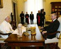 Başkan Erdoğan'dan Papa'ya mesaj