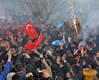 Şırnak'ta AK Parti sevinci