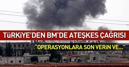 Son dakika... Türkiyenin BM Daimi Temsilcisinden ateşkes çağrısı