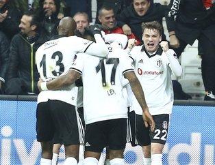 Kartal kayıp vermedi! Beşiktaş 2-0 Bursaspor