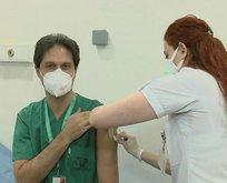 Koronavirüs aşısı sağlık çalışanlarına yapılmaya başladı!