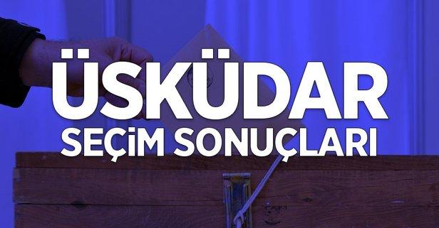 İstanbul Üsküdar 2019 yerel seçim sonuçları!