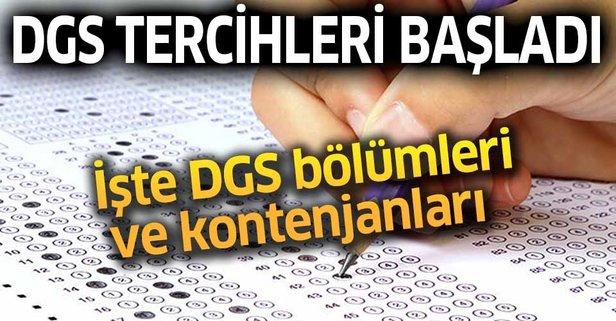 DGS tercihleri nasıl yapılır?