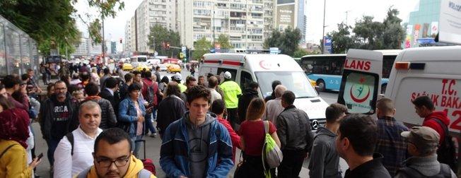 Son dakika: Şişli-Mecidiyeköy metro istasyonunda intihar! Çantasından bu not çıktı