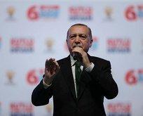 Erdoğandan CHPye Afrin eleştirisi