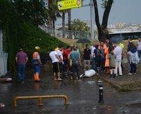 İstanbul'da sağanak yağış can aldı!