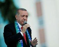 """Erdoğan: """"Sen Amerikalılardan yeni telefon bekle!"""""""