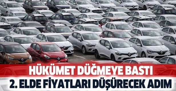 İkinci el otomobil fiyatlarını düşürecek hamle yapıldı vatandaş sevindi