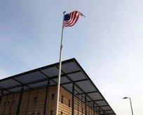 Bağdat'ta ABD Büyükelçiliği yakınına füze düştü
