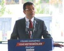 İmamoğlu trafik sınavında sınıfta kaldı!