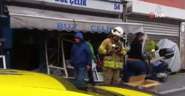 İstanbul'un göbeğinde korkutan patlama