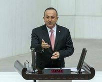 Bakan Çavuşoğlu'ndan harekatla ilgili flaş mesaj