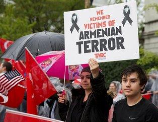 ABD'de Ermeni yalanlarına hayır protestosu