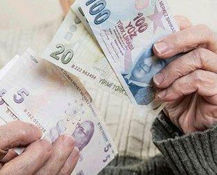 Emeklinin maaşı hesapta