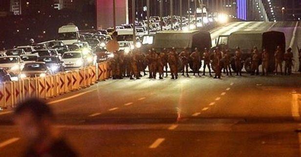 15 Temmuz Şehitler Köprüsü davasında flaş karar!