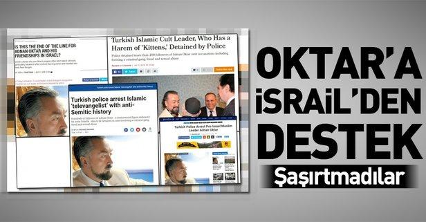 Adnan Oktara İsrailden destek