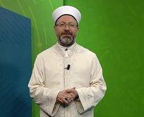 Erbaş'tan Kur'an kursu açıklaması
