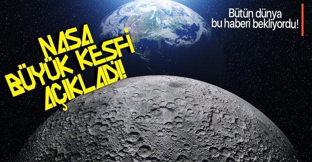 NASA, Ay'daki heyecan verici keşfi duyurdu!
