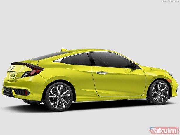 2019 Honda Civic Sedan Ve Copue Tanıtıldı Yeni Honda Civic Sedan Ve