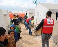 Türk Kızılayı İdlib'de yaraları sarıyor