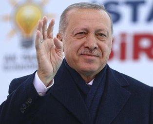 Başkan Recep Tayyip Erdoğan: Ülkemizi hayalleri ile kucaklaştırmak için gece gündüz demeden koşuyor, ter döküyoruz