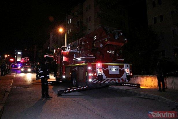 Bursada 5 katlı apartman yıkılma tehlikesi nedeniyle boşaltıldı