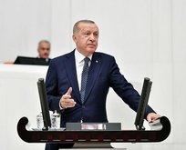 Başkan Erdoğan'dan flaş '50+1' açıklaması