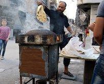 Halep'te 300 bin kişi için 3 fırın kaldı!