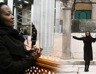 ABD'li şarkıcı Della Miles Türkiye'de Müslüman oldu!
