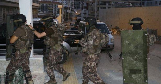 Ankarada bin 500 polisle büyük operasyon