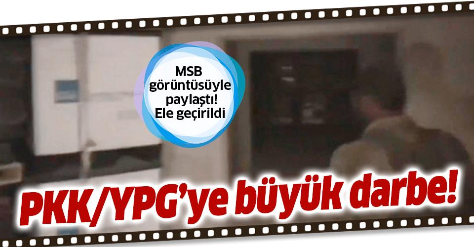 Son dakika: PKK/YPG'ye büyük darbe! Rasulayn'da cephanelik ele geçirildi