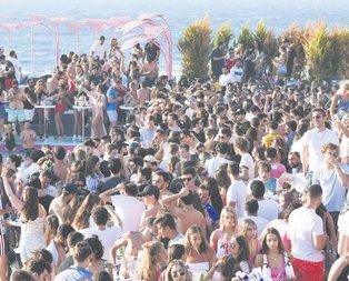O BEACHim kalabalık