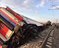 Tekirdağ'daki tren kazasında gözaltılar var
