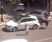 İzmir'de değnekçi terörü! Polis nöbet tutuyor