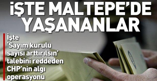 Yerel seçimlerde Maltepe'de neler yaşandı?