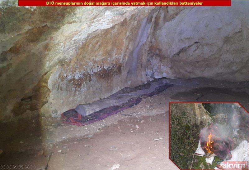 Diyarbakır'da PKK'ya ait 8 sığınak bulundu! İşte içinden çıkanlar...