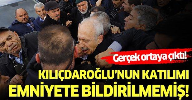 Emniyet'ten flaş Kılıçdaroğlu açıklaması