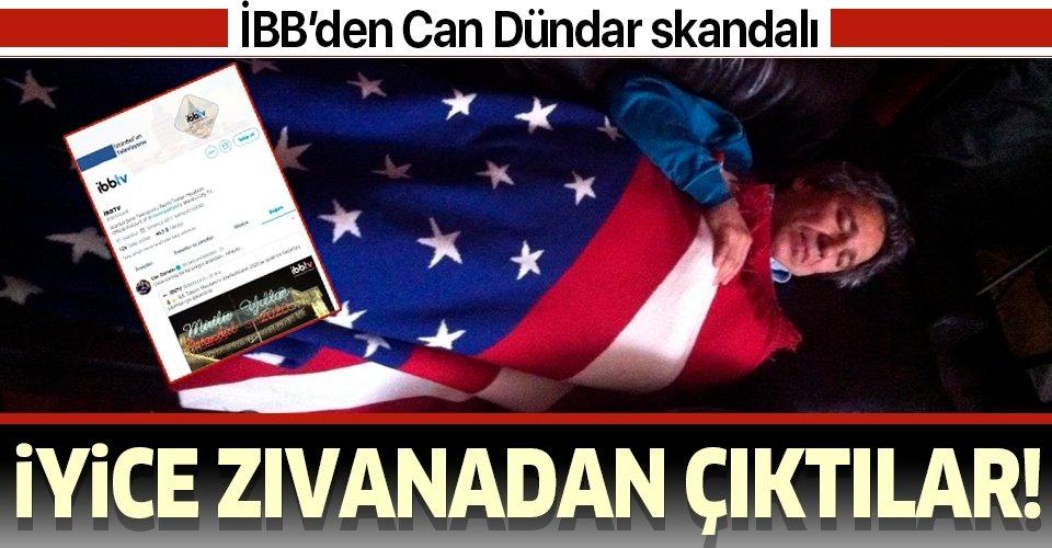 İBB'den Can Dündar skandalı!