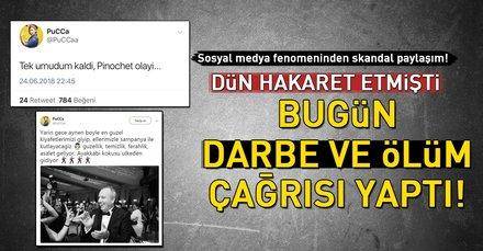 CHP seçmeninden sosyal medyada darbe çağrısı!
