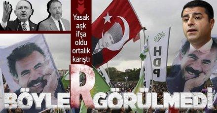 CHP-HDP yasak aşkı ifşa oldu! Ortalık karıştı