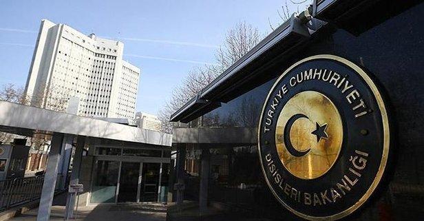 Türkiye'den 'Dostluk' anlaşmasına ilişkin açıklama